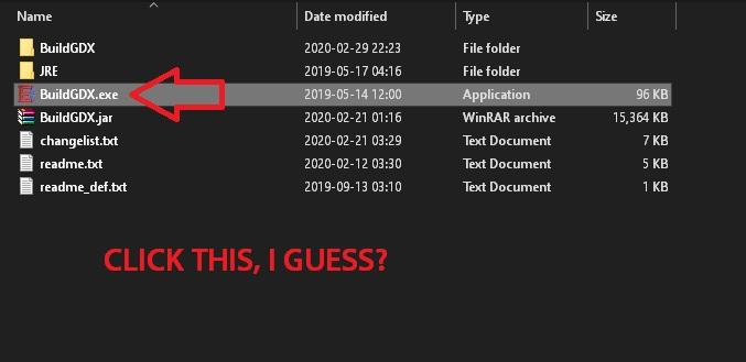 BloodGDX install fail 005