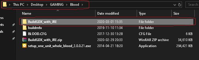 BloodGDX install fail 028