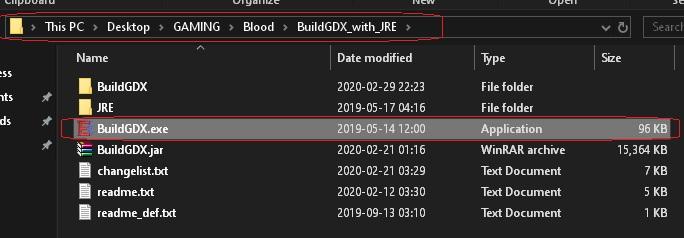 BloodGDX install fail 029