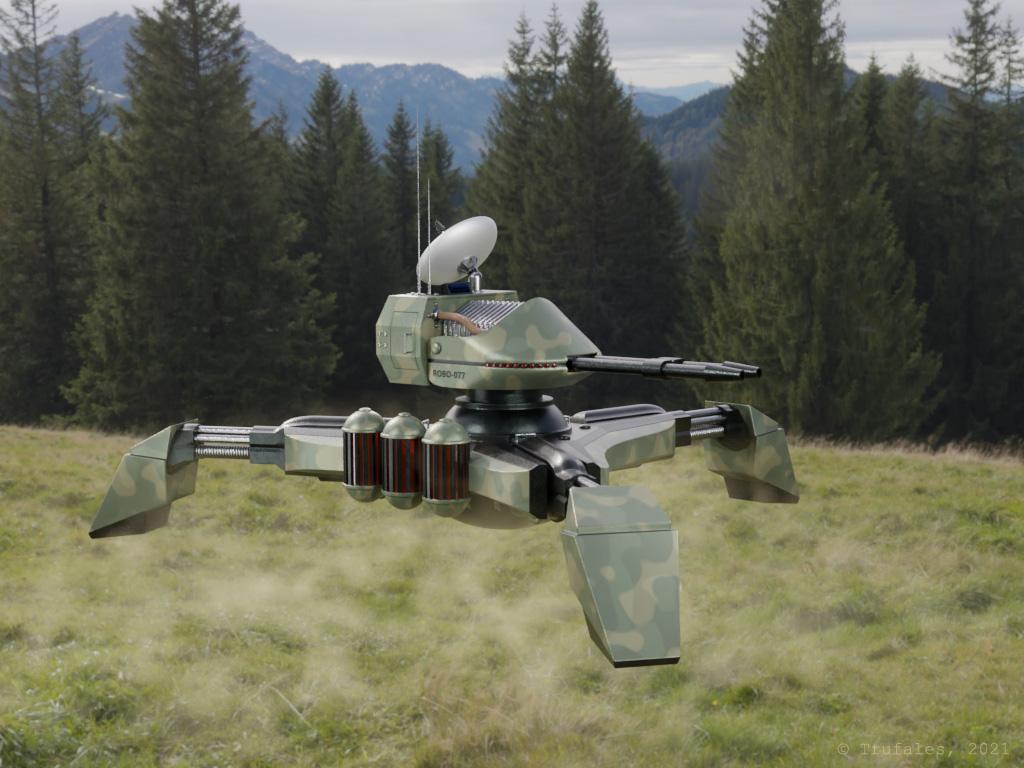 fan art robot tank