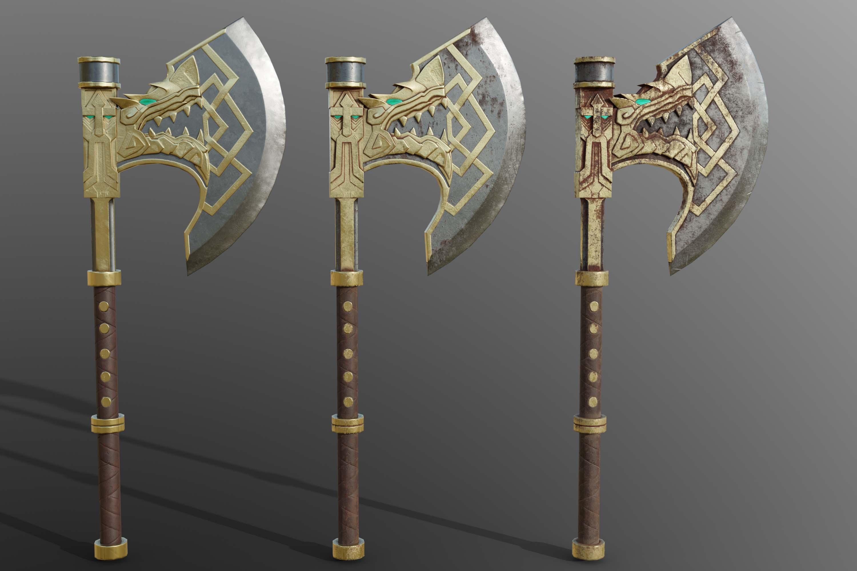 Dragonslayer axe