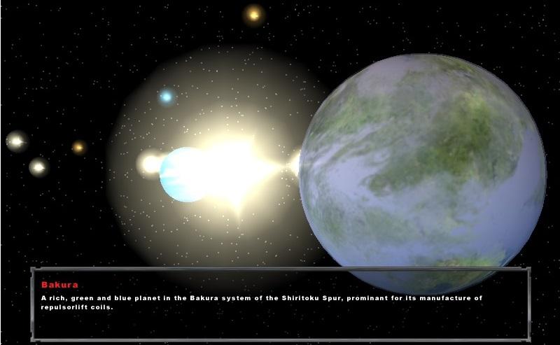 Bakura Planet Model