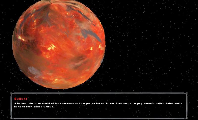 Sullust Planet Model