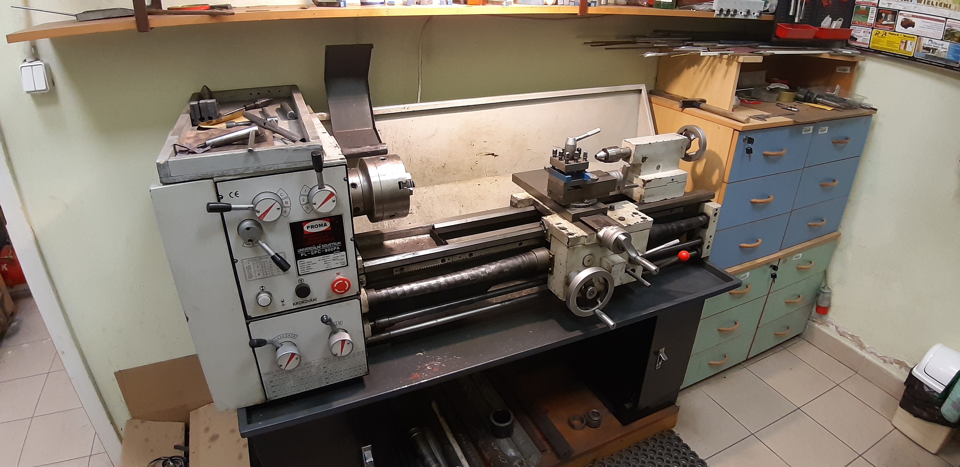 Lathe in real-life