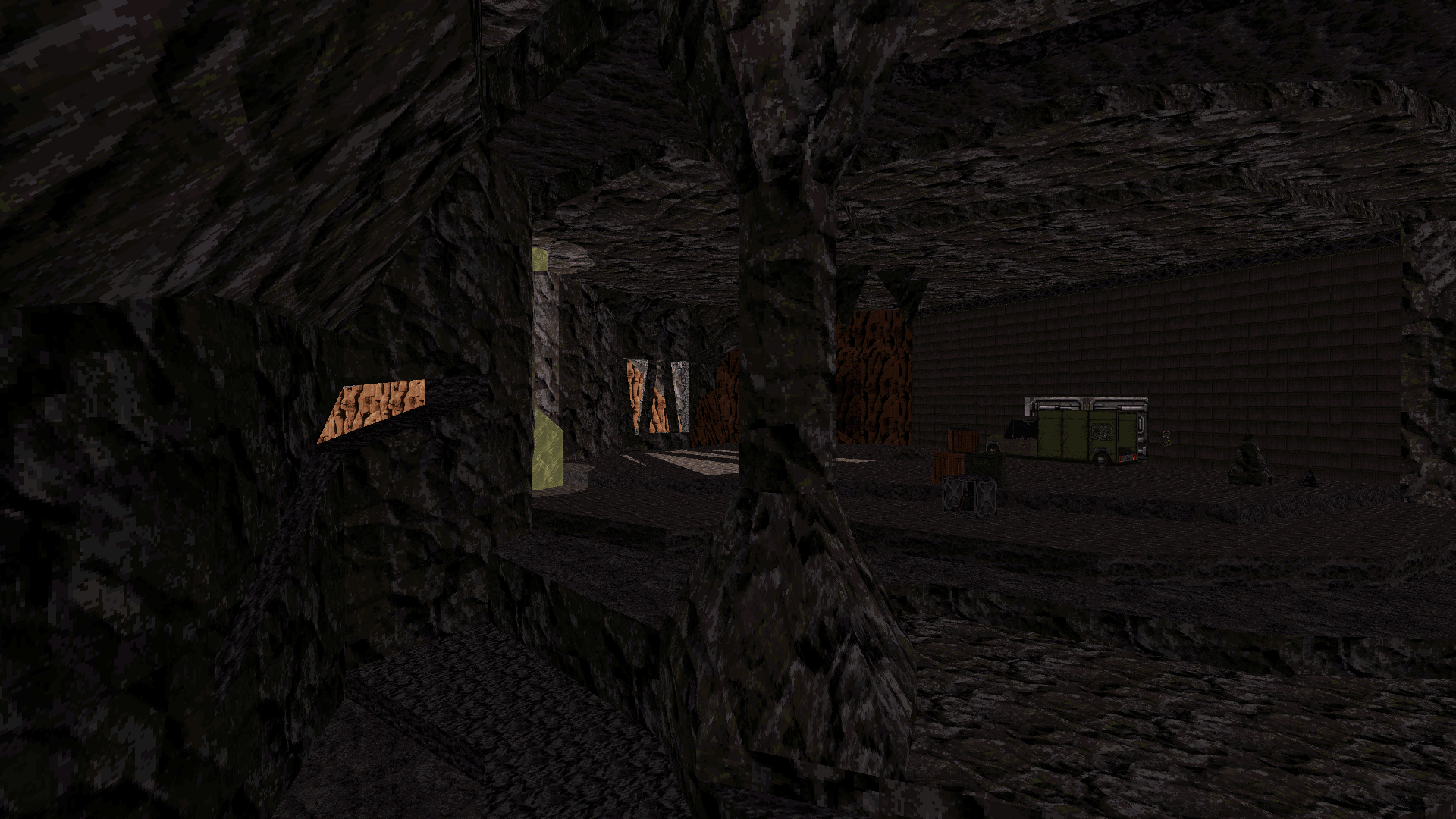 Main caves after some facelift