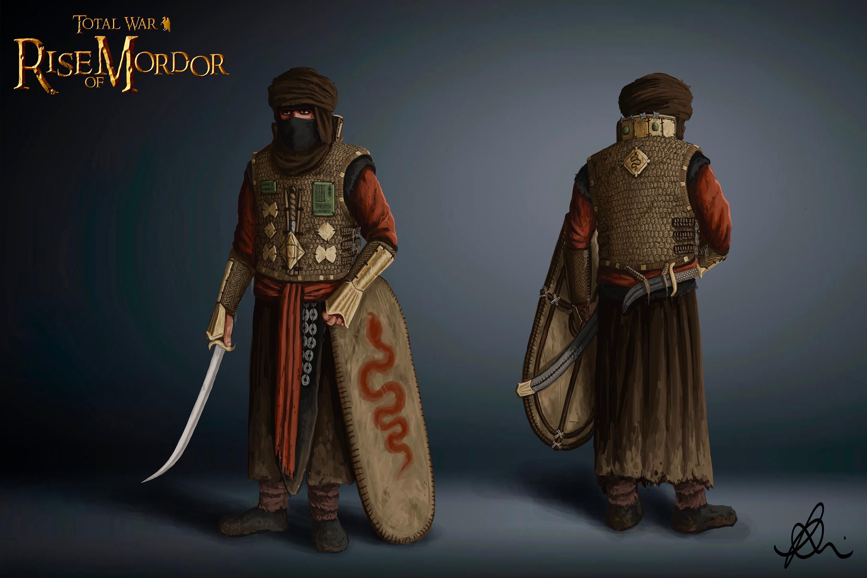 Haradrim Swordsmen1