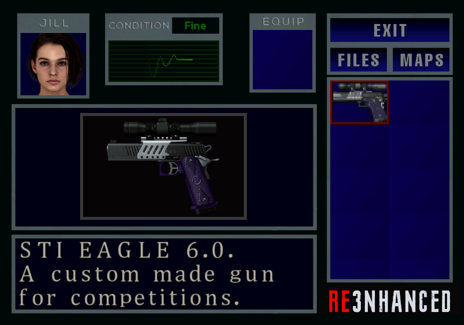 RE3NHANCED - Inventory Preview
