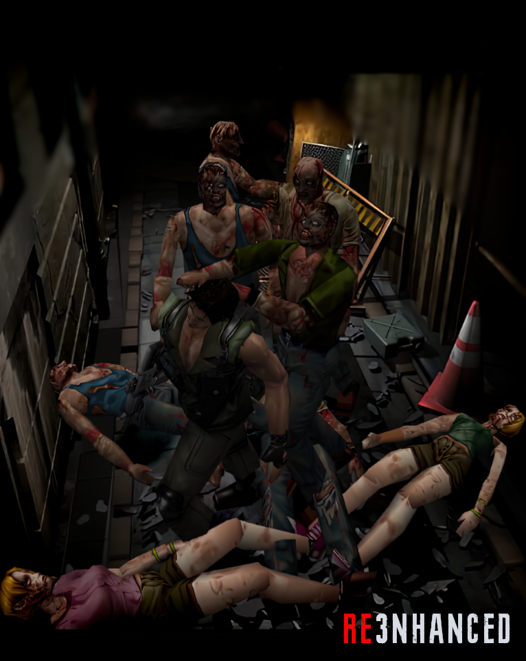 RE3NHANCED - Zombies Preview