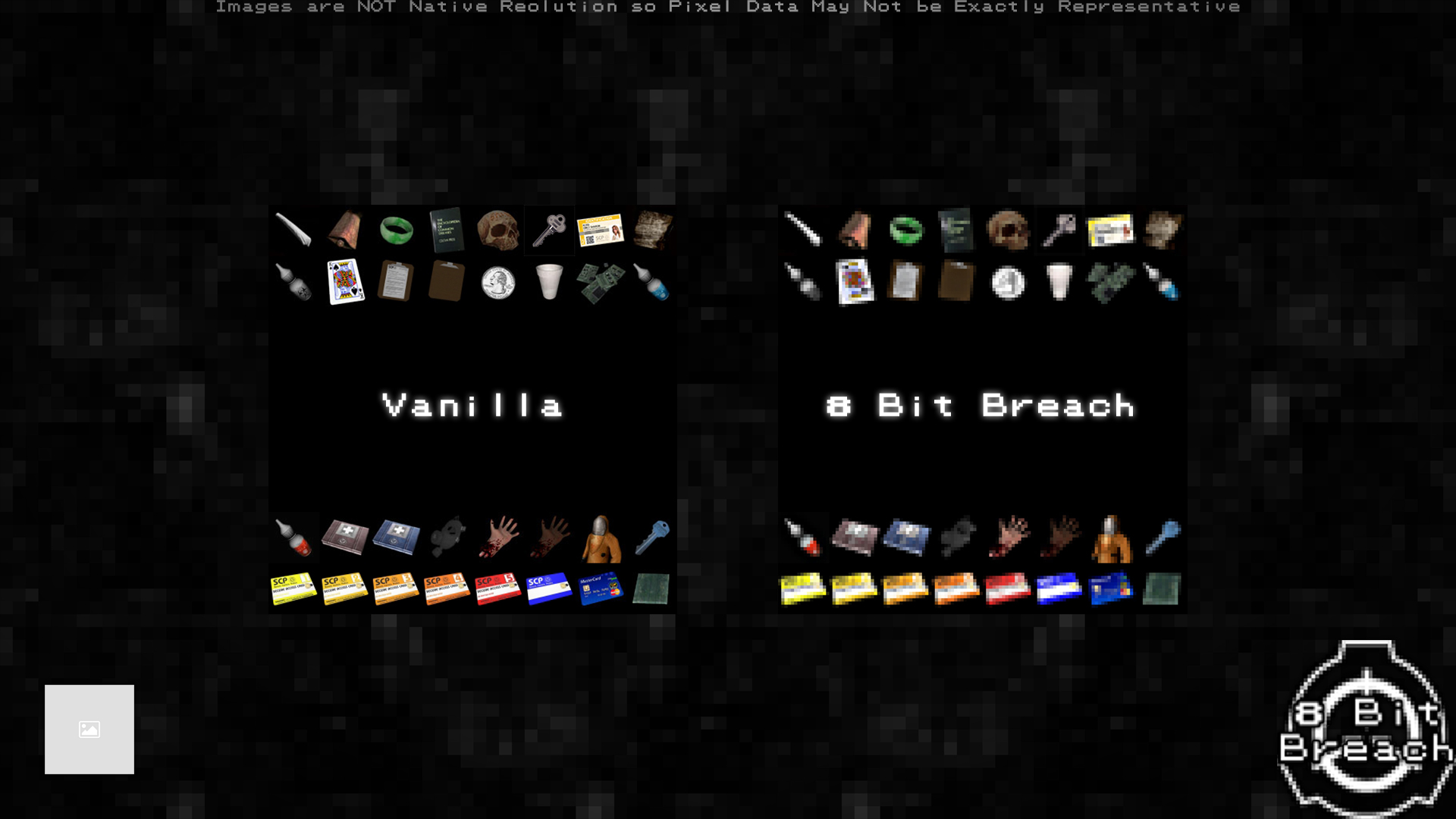 Comparison Image of Assorted Items