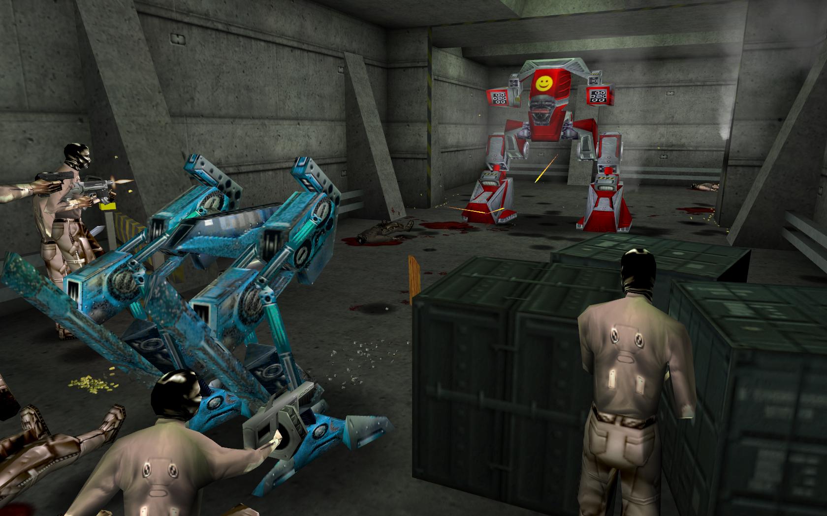 S.M.I.L.E. image - The Nameless Mod for Deus Ex - Mod DB