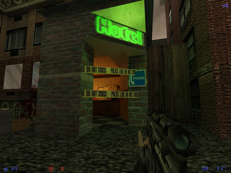 Middle Mode Half-Life