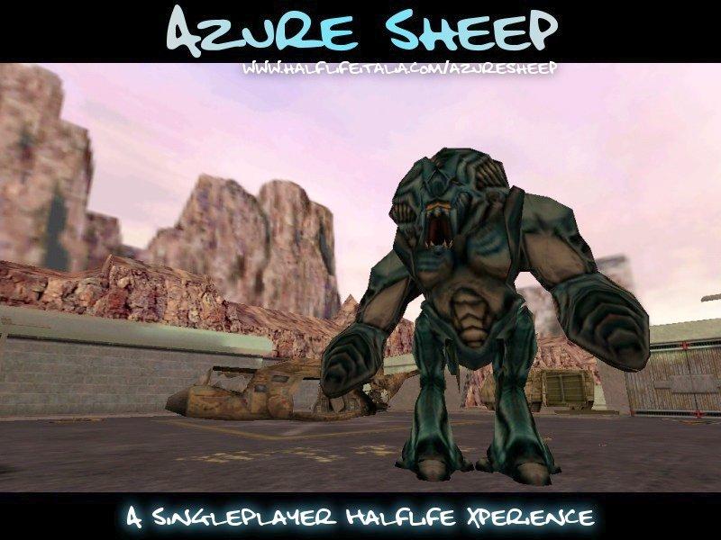 Скачать мод azure sheep для half life
