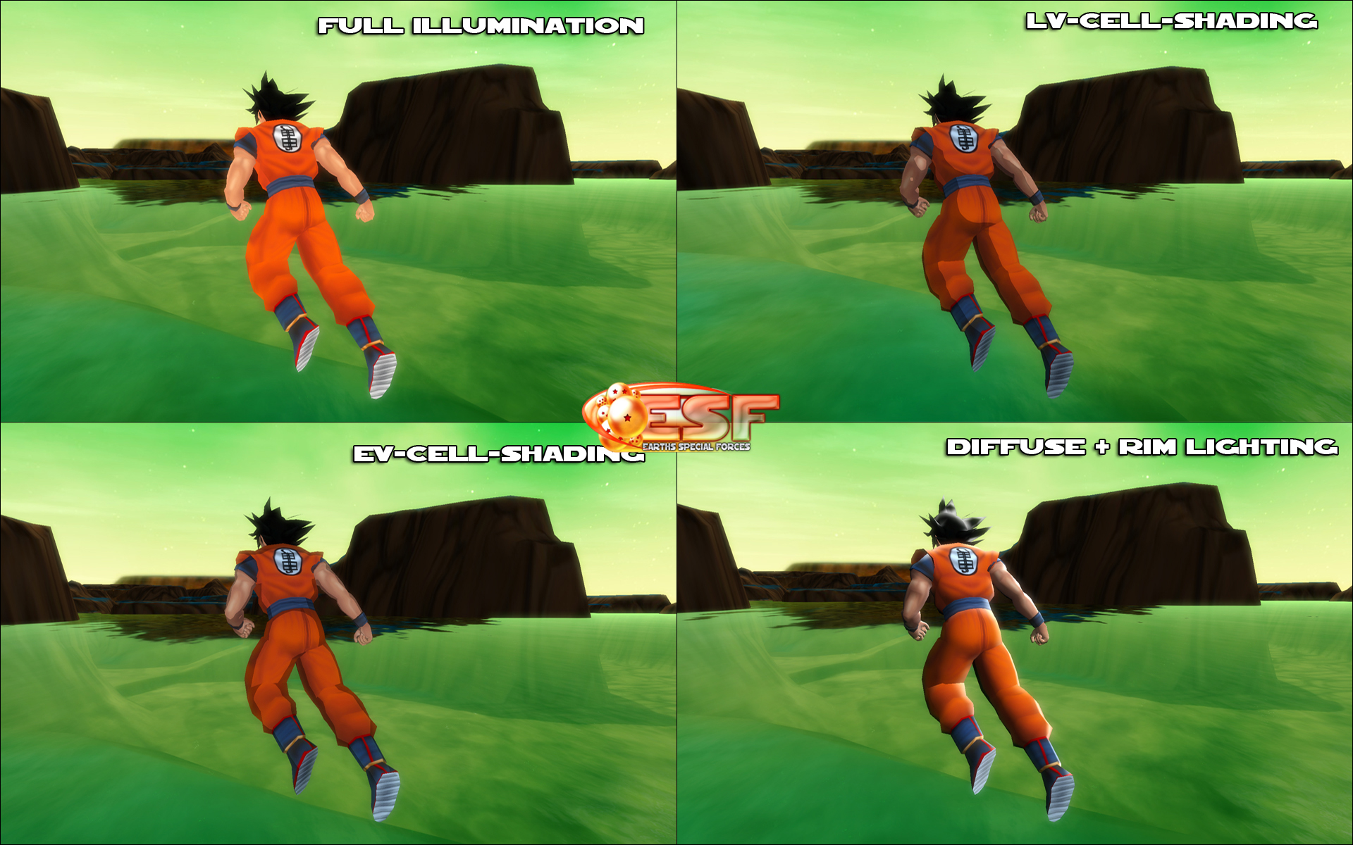 Dragon ball z esf download game.