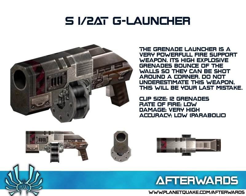 S 1/2AT Grenade Launcher image - Afterwards mod for Quake