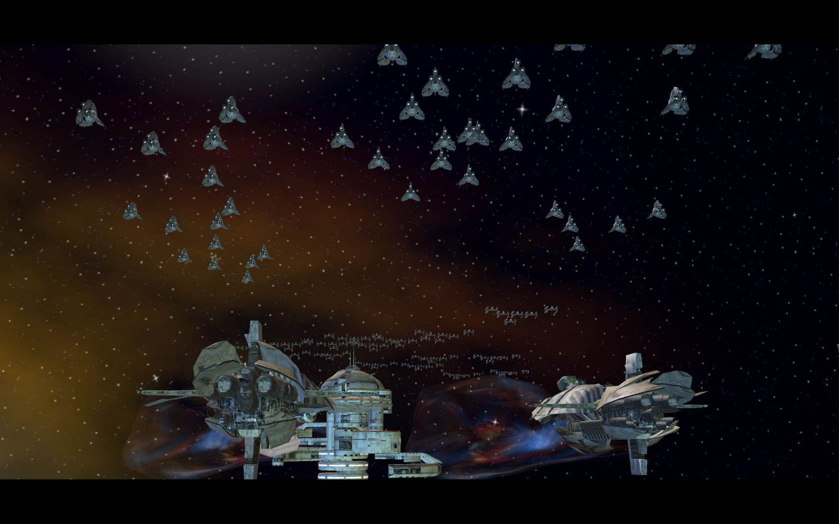 Tri Fighters And Vulture Droids Ready To Attack Image A Galaxy Divided Mod For Star Wars Empire At War Mod Db