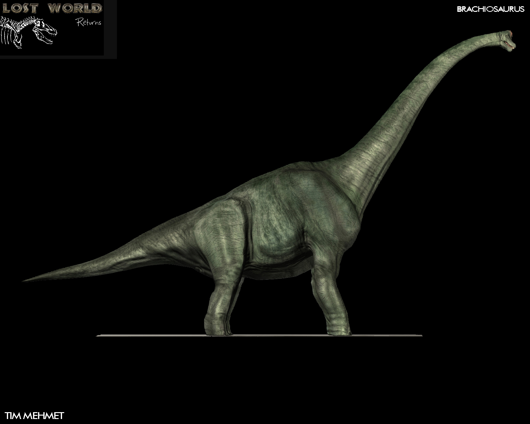 Games Released With Ps4 : Brachiosaurus spotted image lost world returns mod for