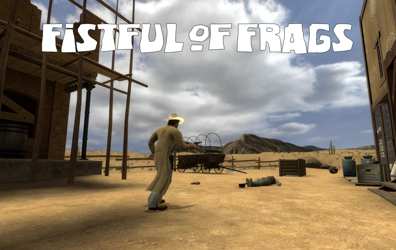 how to set gamemode fistful of frags steamcmd