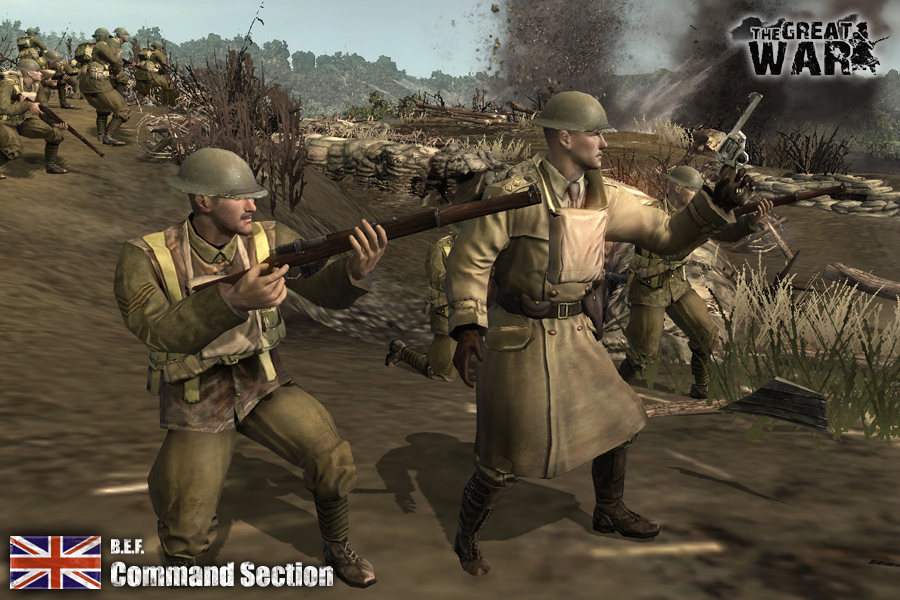 British Expeditionary Force Image The Great War 1918 Mod