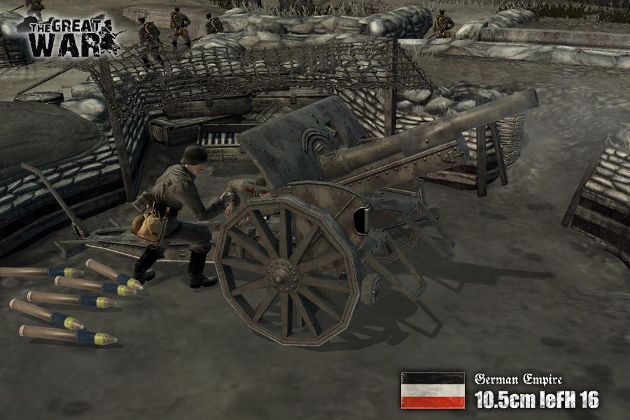 Great war мод скачать
