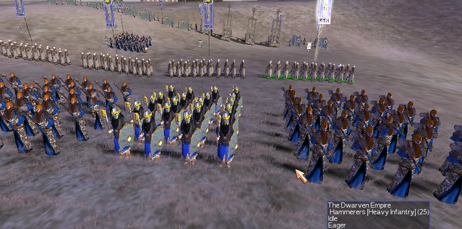 dwarf infantry image warhammer total war mod for rome total war