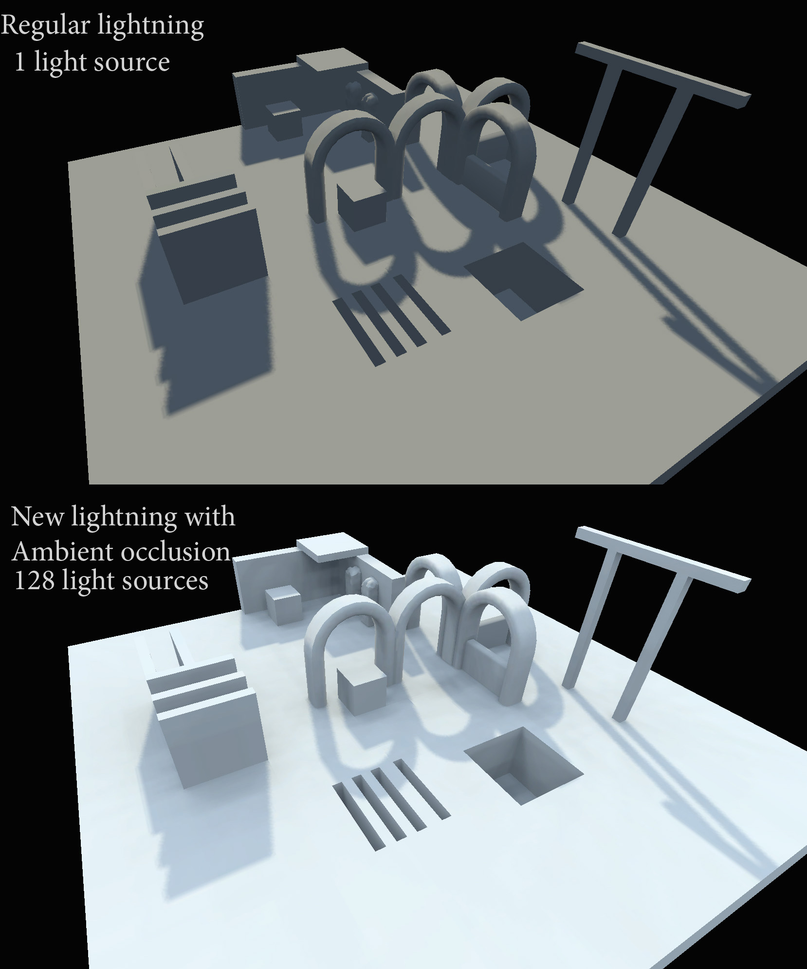 Ambient occlusion baking experiments image - Tales of wenda mod for