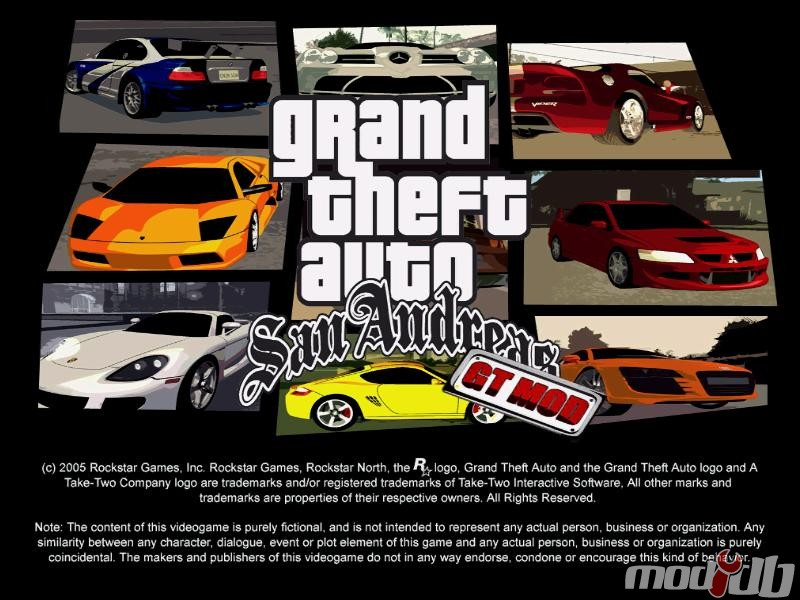 GT mod for Grand Theft Auto: San Andreas - Mod DB
