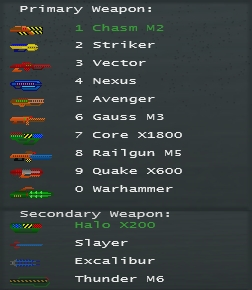Weapon List image - Absolute Warfare mod for Soldat - Mod DB