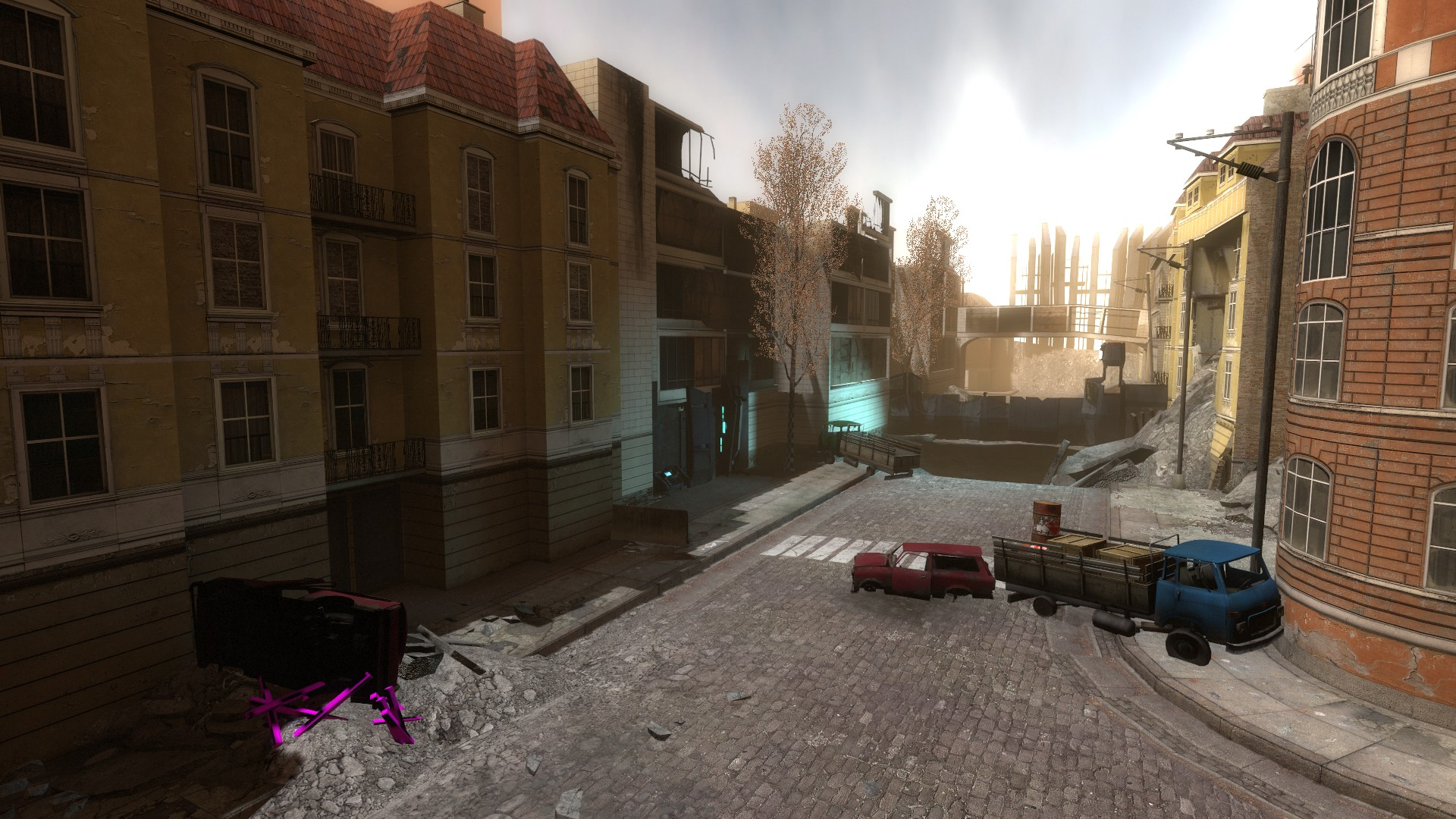 real time global lighting image city 17 episode one mod for half