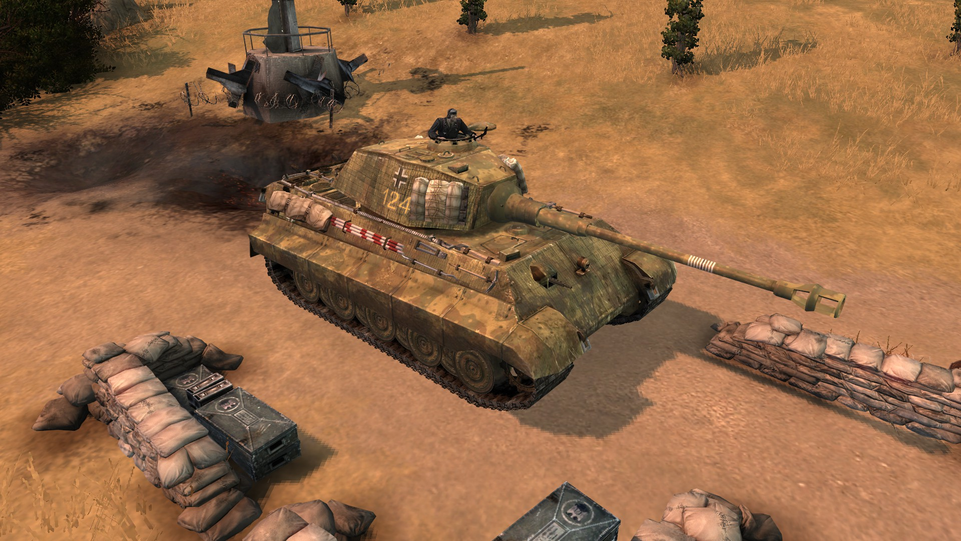 company of heroes 2 how to get tiger
