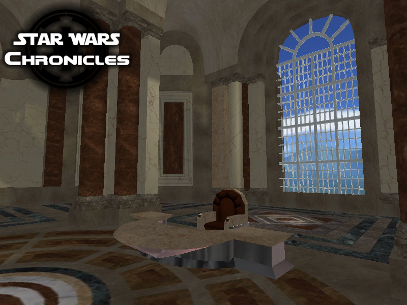 Ep1 Theed Palace Throne Room Image Star Wars Chronicles