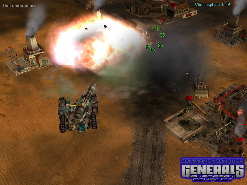 USA Atlas Siege tank image - Deep Impact mod for C&C: Generals Zero