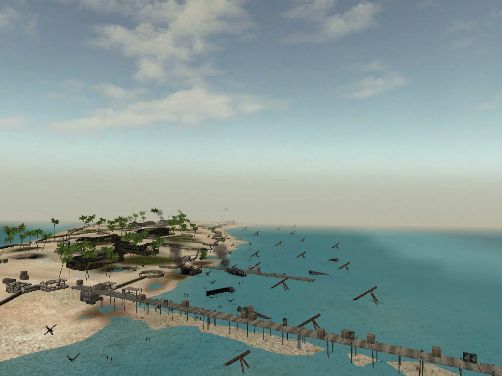 Tarawa Atoll By Toucinator Image BFV Arsenal Mod For Battlefield - tarawa atoll map