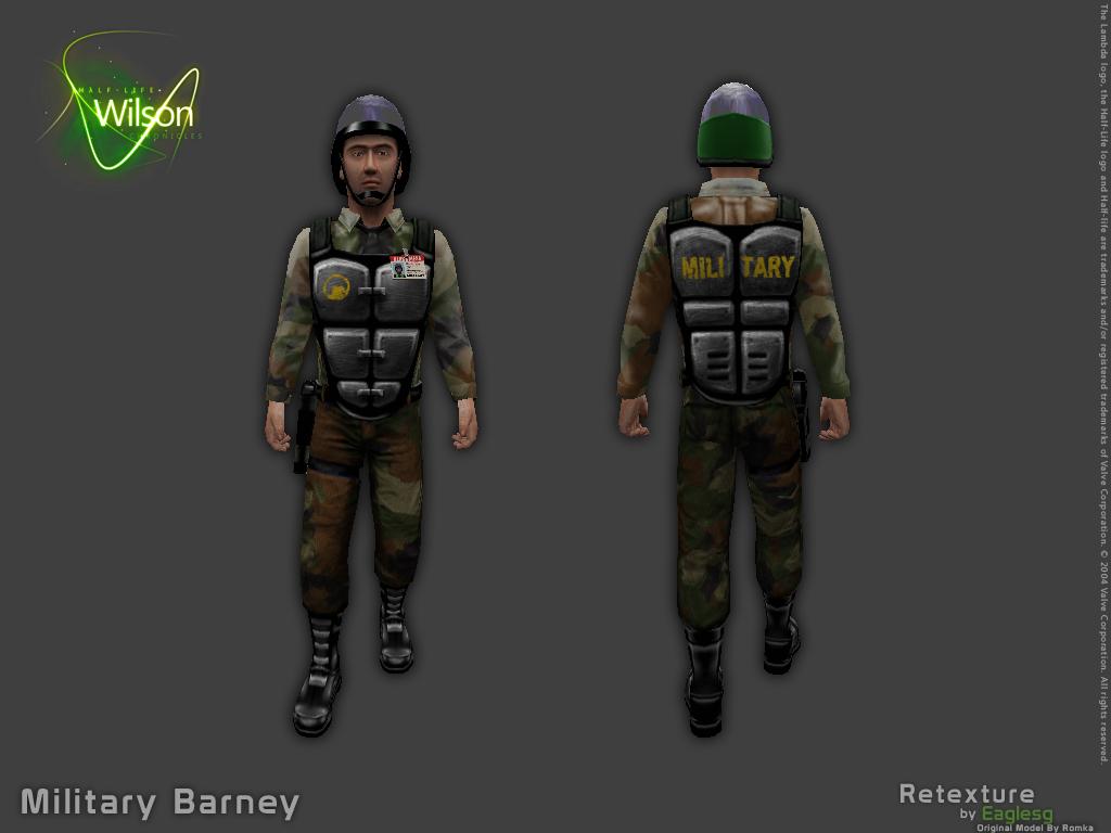 Military Barney