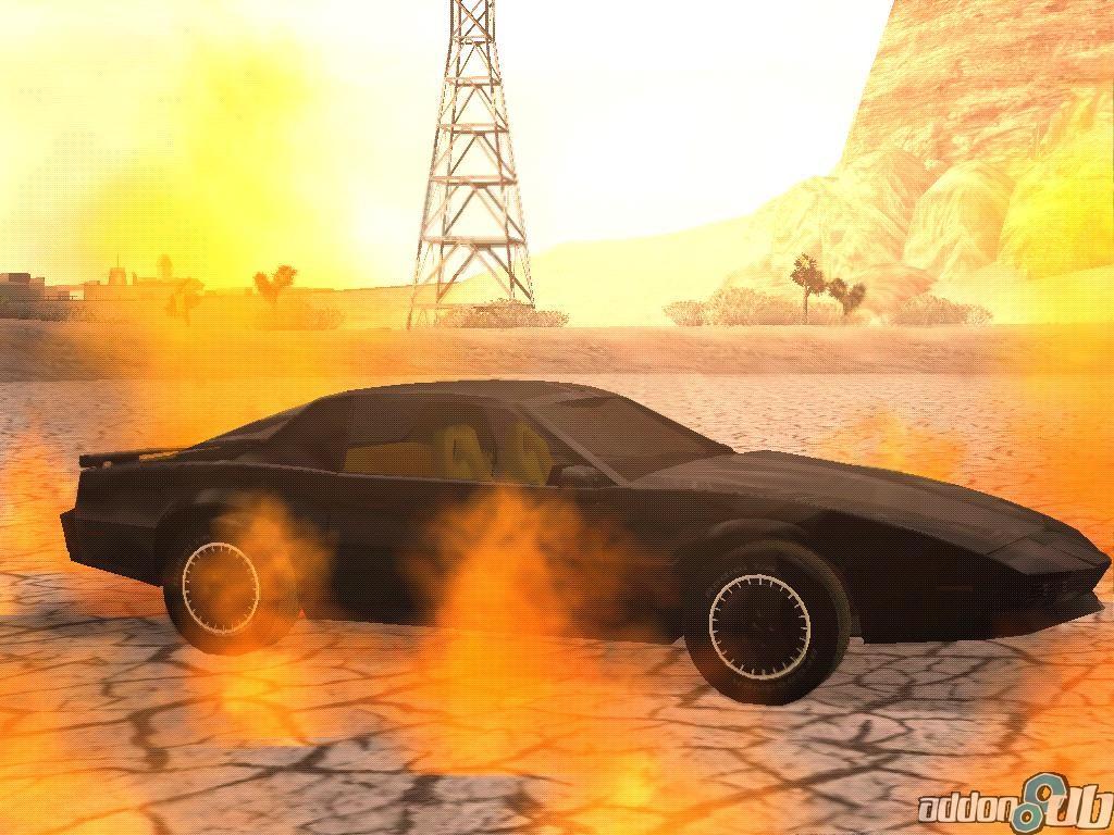 GTA: Knight Rider mod for Grand Theft Auto: San Andreas - Mod DB