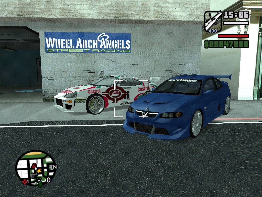Import Vs Muscle Cars Mod For Grand Theft Auto San
