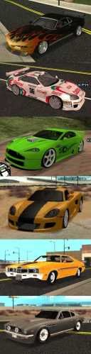 import vs muscle cars mod for grand theft auto san. Black Bedroom Furniture Sets. Home Design Ideas