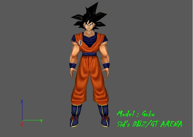 Model : Goku image - W...