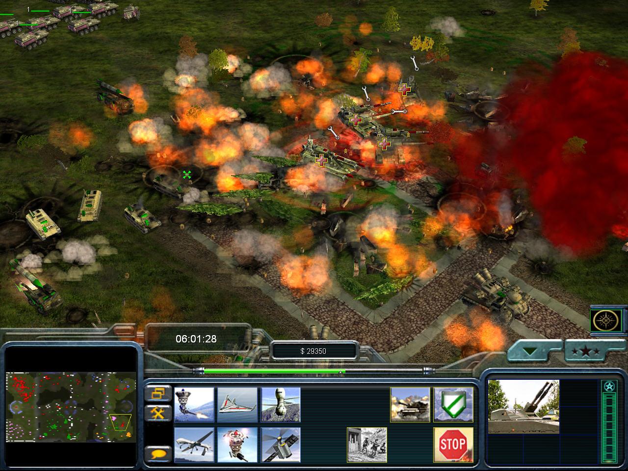 Generals zero hour contra 007 final бойня титанов - youtube gaming
