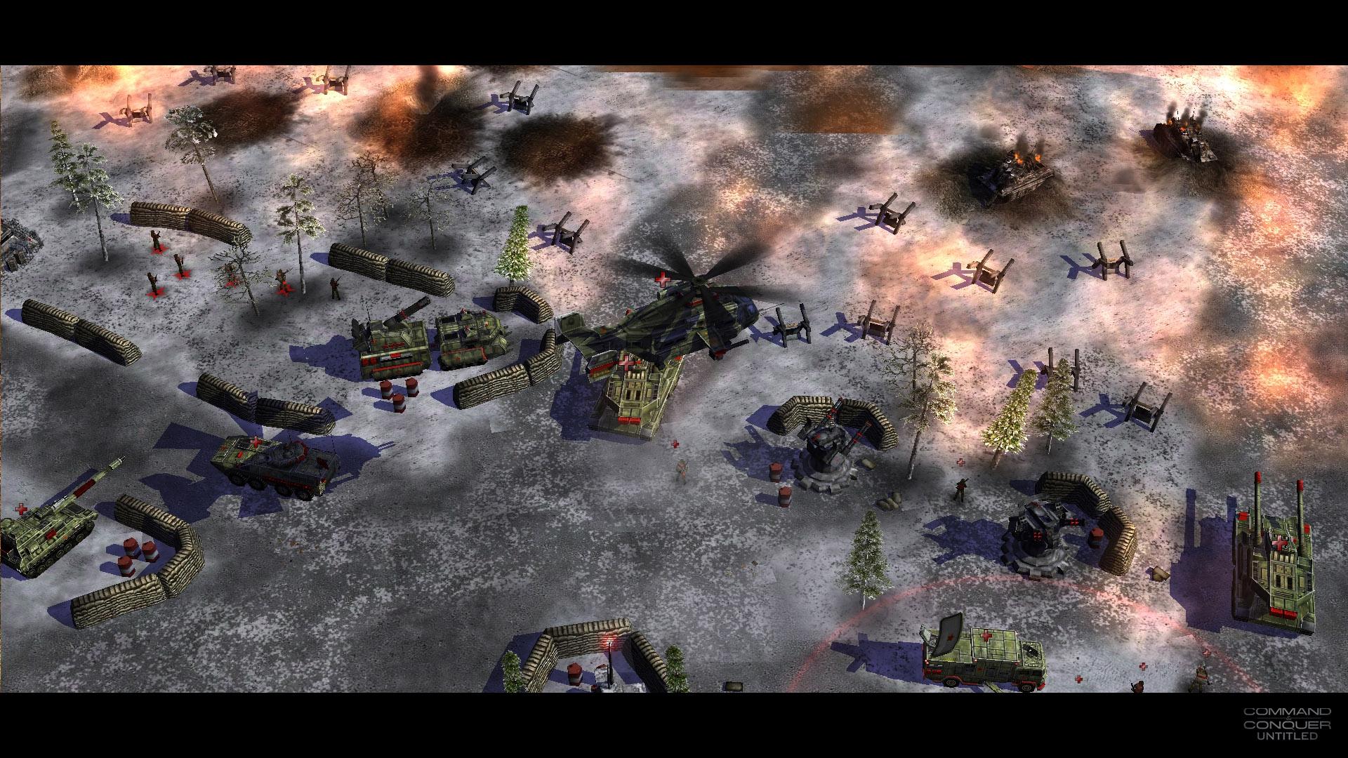 command conquer generals zero hour много всяких
