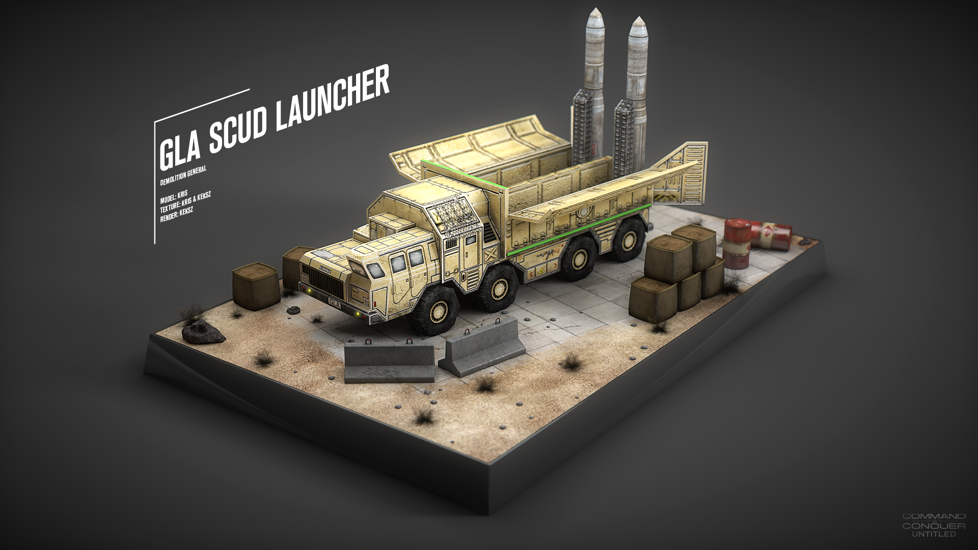 GLA Scud Launcher (Demo General) image - C&C: Untitled mod