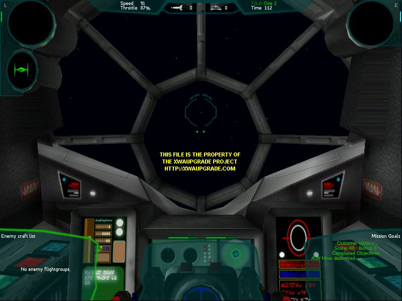 Star Wars X Wing Cockpit. Star Wars: X-Wing Alliance mod
