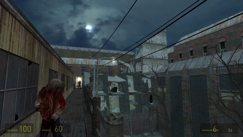 Старший художник arkane studios показал в своем портфолио скриншоты отмененной half-life 2: episode 4