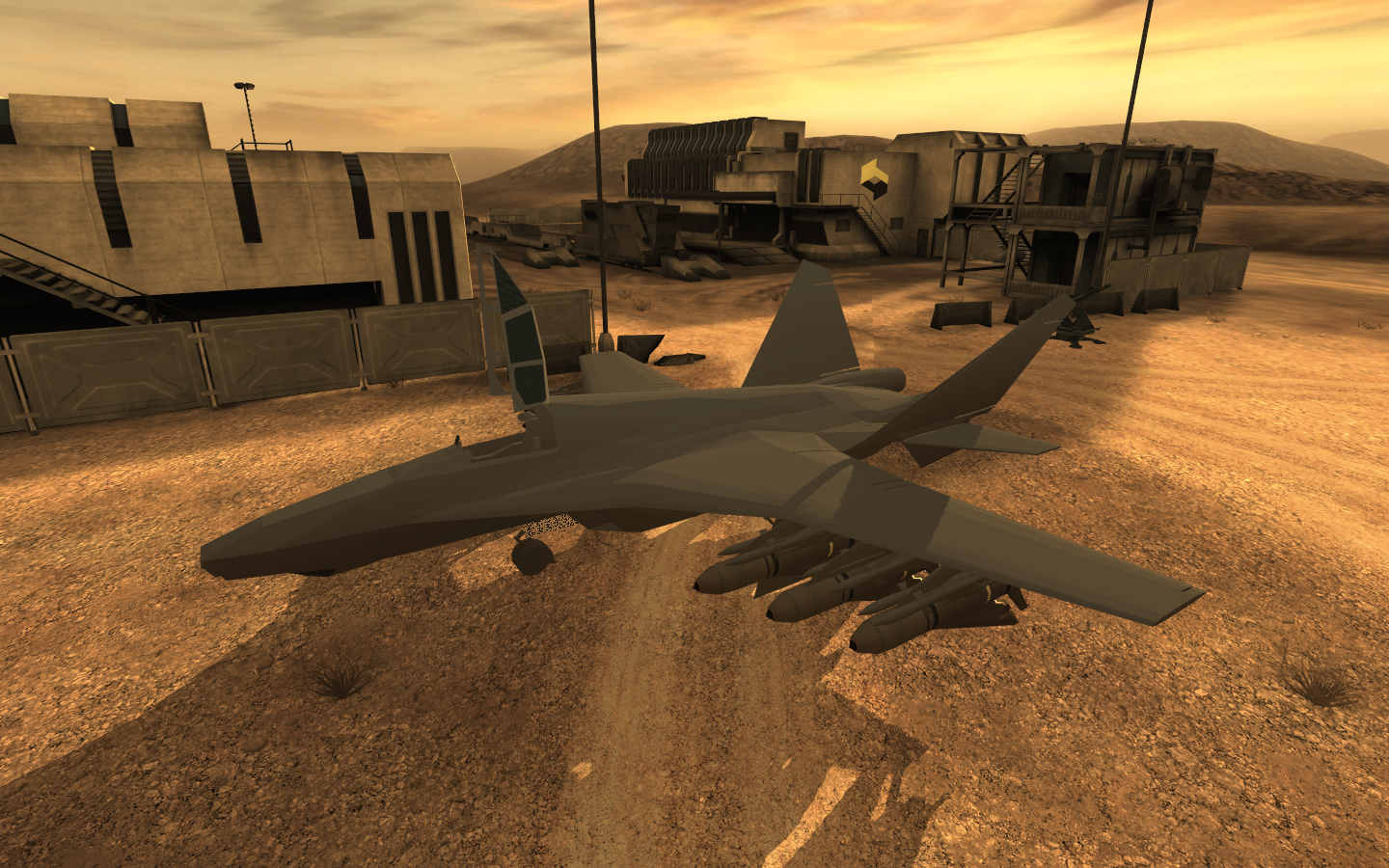 PAC Jet - Ingame - Test image - Northern Excursion mod for