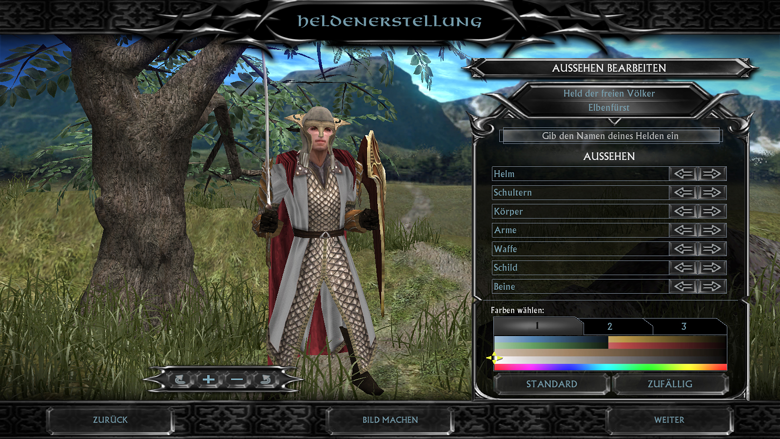 Lord Of The Rings Strategy Battle Game Character Stats