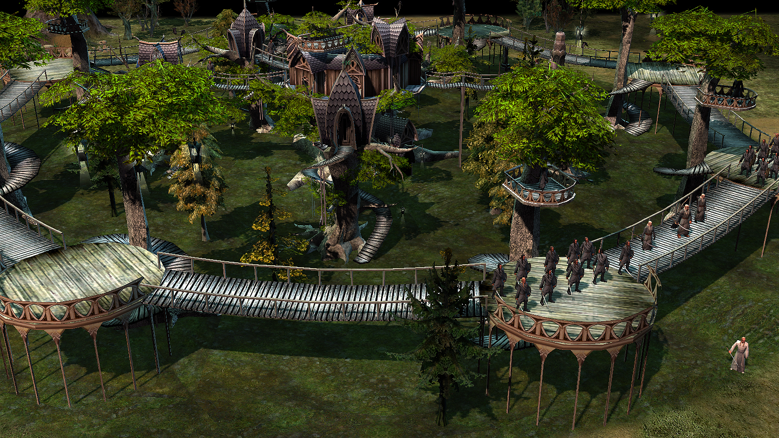 lothlorien fortress image edain mod for battle for middle earth ii