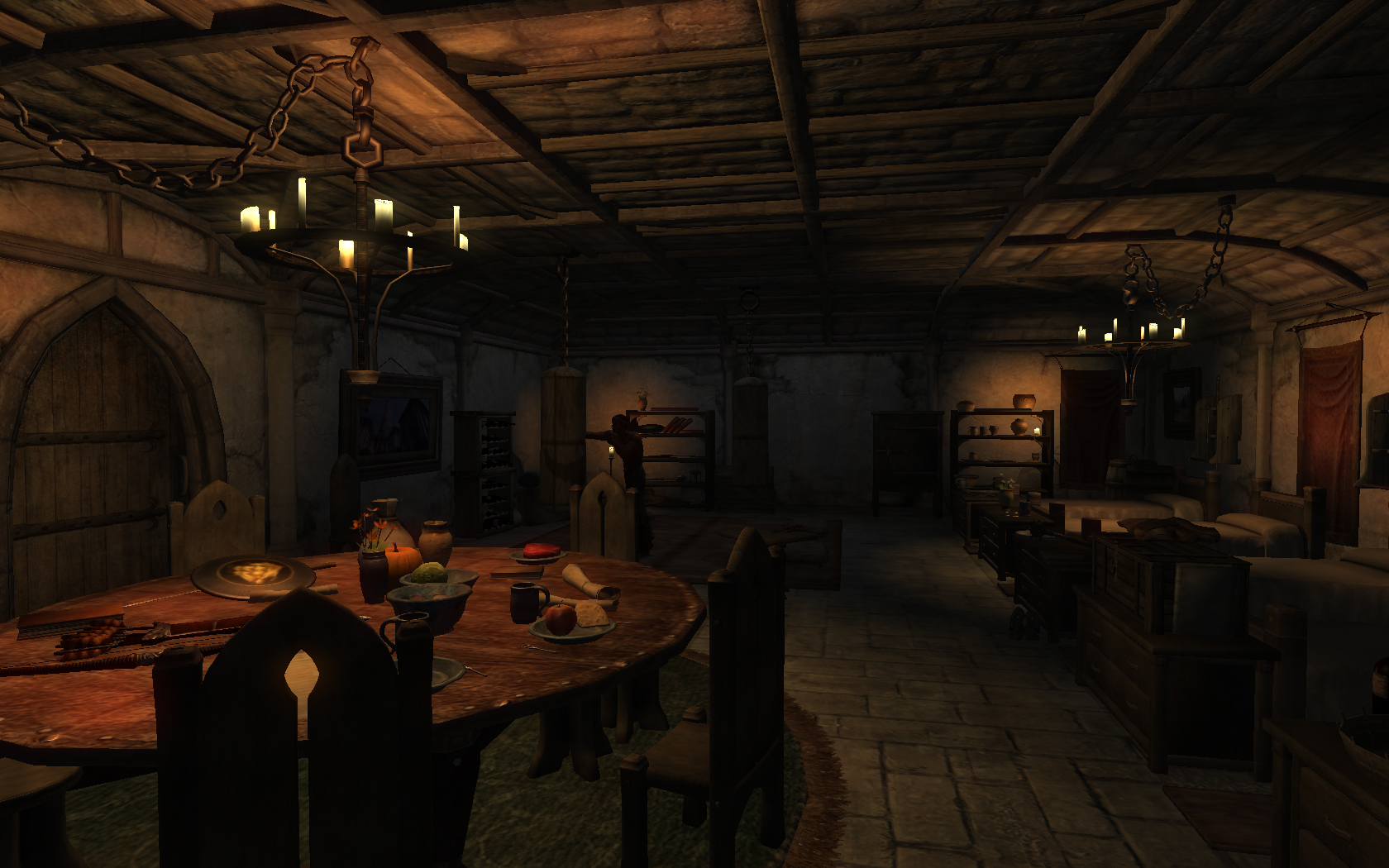 Hud Mirrors Made Smaller together with Extrem Trailer Mod as well Dramatic Dining Rooms 30 Beautiful Elegant Ideas additionally Dark Castle Interior besides 266697609161803737. on mod house interiors