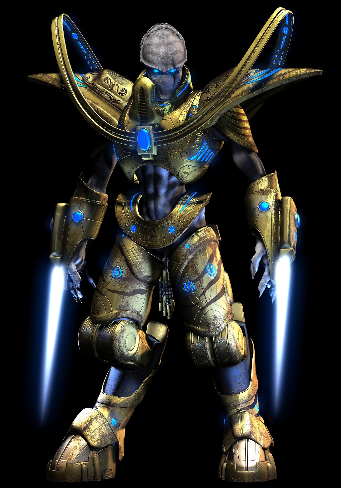 SpaceBattles are Protoss warriors in StarGate Universe