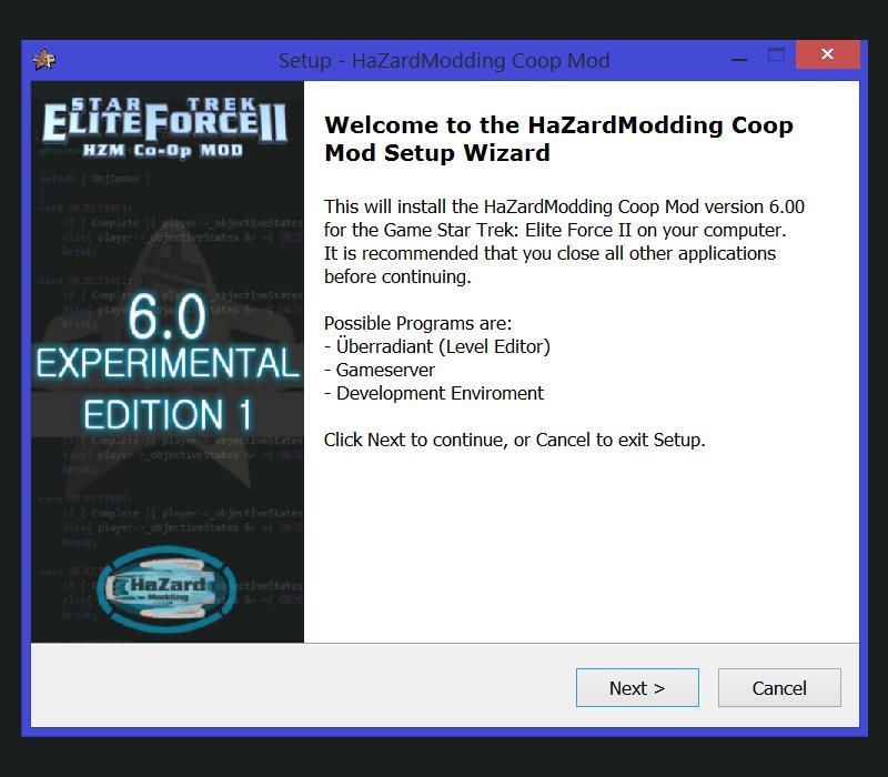 New HZM Coop Mod Installer