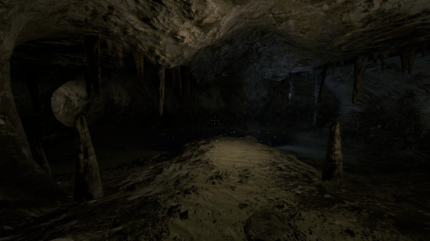 the caves image - prison island mod for half-life 2
