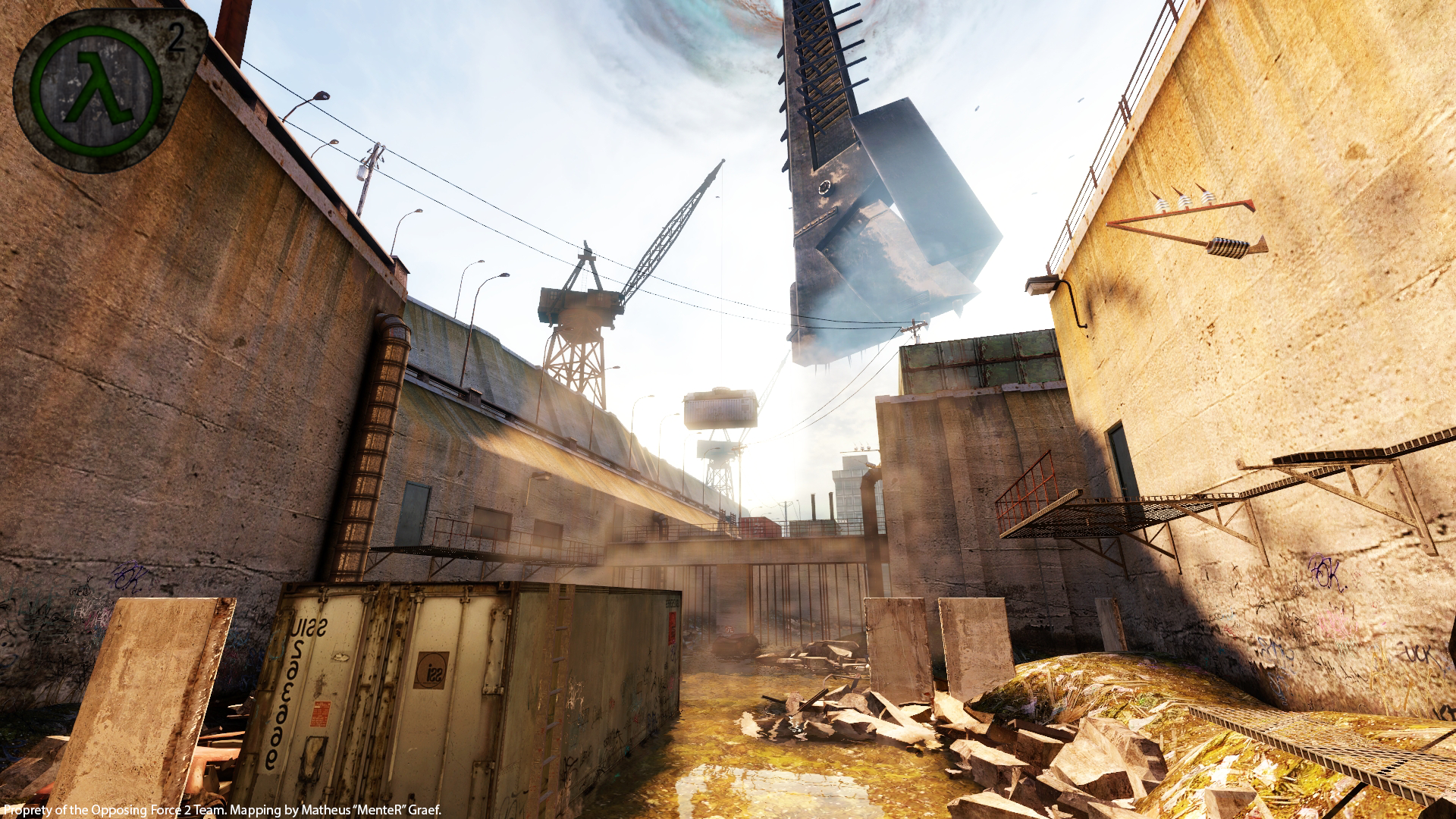 OF2 - Urban Chaos (Canals) image - Opposing Force 2 mod for